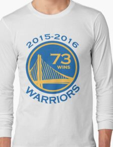 Golden State Warriors 73-9 Record NBA Long Sleeve T-Shirt