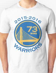 Golden State Warriors 73-9 Record NBA Unisex T-Shirt