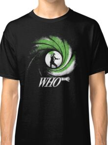The Name's Who Classic T-Shirt