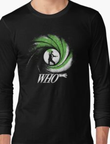 The Name's Who Long Sleeve T-Shirt