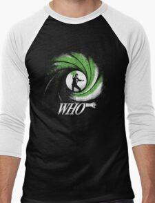 The Name's Who Men's Baseball ¾ T-Shirt