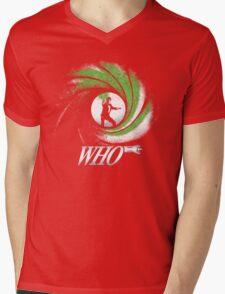 The Name's Who Mens V-Neck T-Shirt