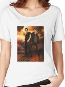 supernatural - dean and sam Women's Relaxed Fit T-Shirt