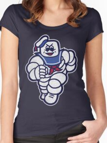 Marshmelin Man Women's Fitted Scoop T-Shirt