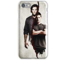 supernatural - dean and sam iPhone Case/Skin