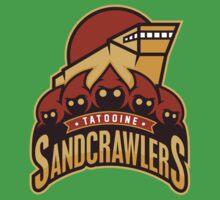 Tatooine SandCrawlers Kids Tee