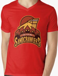 Tatooine SandCrawlers Mens V-Neck T-Shirt