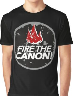 Fire The Canon Graphic T-Shirt