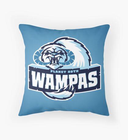Planet Hoth Wampas Throw Pillow