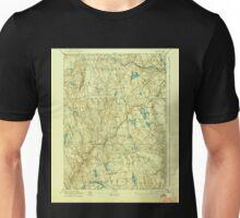 USGS TOPO Map Connecticut CT Gilead 331031 1892 62500 Unisex T-Shirt