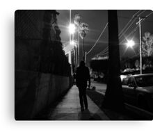 Laurie Night Canvas Print