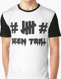 been trill tag undefeated Graphic T-Shirt