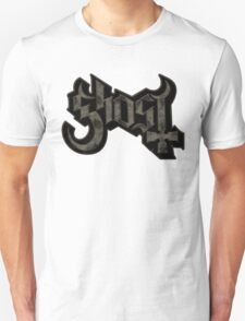 BLACK GRUNGE GHOST T-Shirt