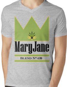 Maryjane Mens V-Neck T-Shirt