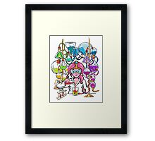 Science With Princess Bubblegum Framed Print
