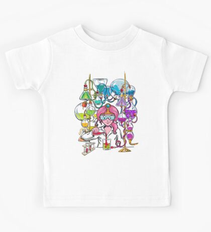 Science With Princess Bubblegum Kids Tee