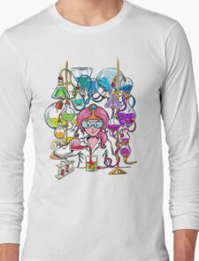 Science With Princess Bubblegum Long Sleeve T-Shirt