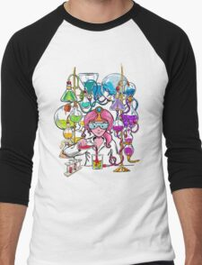 Science With Princess Bubblegum Men's Baseball ¾ T-Shirt