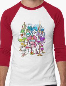 Science With Princess Bubblegum Men's Baseball ¾ T-Shirt