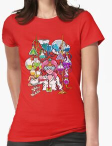 Science With Princess Bubblegum Womens Fitted T-Shirt