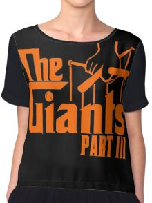 The GIANTS Chiffon Top
