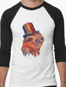 Dapper Sloth Men's Baseball ¾ T-Shirt