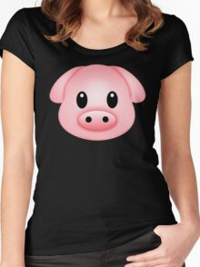Pinkg Women's Fitted Scoop T-Shirt