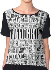 Photography Chiffon Top