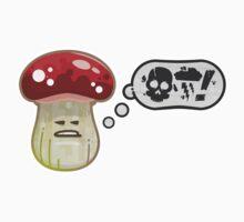 Vector Foul Language Shroom Kids Tee