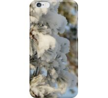 Snow Dusted Tree iPhone Case/Skin