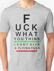 IDGAFF Unisex T-Shirt