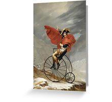 The Art of the Bicycle  Greeting Card