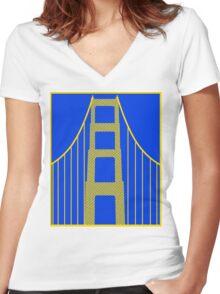 The Bridge Women's Fitted V-Neck T-Shirt