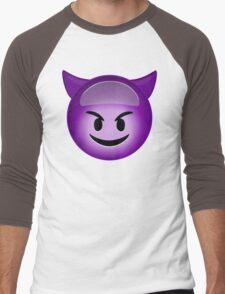 Evil Purple Men's Baseball ¾ T-Shirt