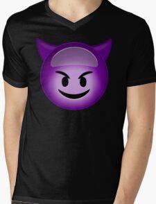 Evil Purple Mens V-Neck T-Shirt