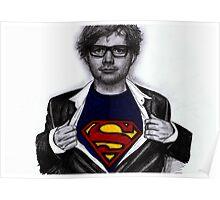 Ed Sheeran Drawing Poster