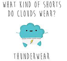 Cute Cloud Photographic Print
