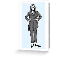 Pilot Scully Greeting Card