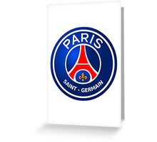 PARIS SAINT GERMAN LOGO Greeting Card