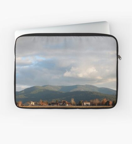 Liberty Lake and the View of the Mountains Laptop Sleeve