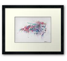 Watercolour girl 2 Framed Print