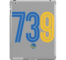 Warriors 73 and 9 iPad Case/Skin