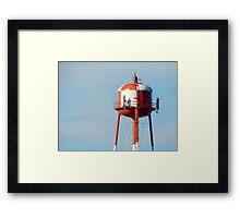 Standard Water Tower of Spokane Framed Print
