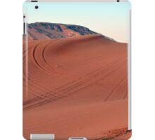 Sand dunes natural desert background. iPad Case/Skin