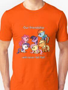 Our Friendship Won't Fall Flat T-Shirt