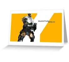 quantum break Greeting Card