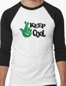 Keep Cool Men's Baseball ¾ T-Shirt