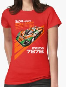 DU MANS Mazda Womens Fitted T-Shirt