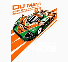 DU MANS Mazda Men's Baseball ¾ T-Shirt