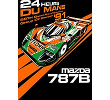 DU MANS Mazda Photographic Print